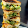 Broccoli Cheddar Grilled Cheese