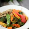 Quick Veggie & Quinoa Thai Coconut Curry