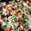 Jalapeno Ranch Black Bean Loaded Nachos