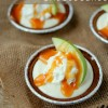 No Bake Mini Caramel Apple Pie Cheesecakes