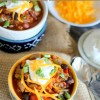 One Pot or Crock Pot Loaded Quinoa Chili