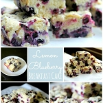 Lemon Blueberry Breakfast Cake