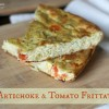 Artichoke and Tomato Frittata