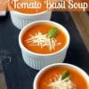 Skinny Tomato Basil Soup