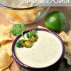 Creamy Jalapeno Ranch