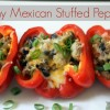 Skinny Mexican Stuffed Peppers