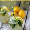 The BEST Homemade Basil Lemonade