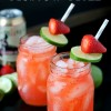 Strawberry Moscow Mules