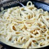 One Skillet Spicy Jalapeno Parmesan Pasta