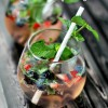 Mixed Berry Mojitos