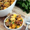 Holiday Sausage Cornbread Stuffing