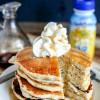 Vanilla Cream Pancakes