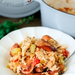 Easy One Pot Jambalaya (Chicken and Sausage)