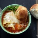 Skinny Lasagna Soup