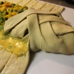 Broccoli & Cheese Braided Calzone