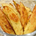 Roasted Rosemary Potato Wedges