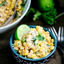 Mexican Street Corn Salad (Esquites)