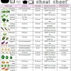 Veggie Cooking Cheat Sheet!