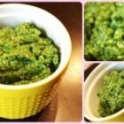 Arugula Lemon Pesto