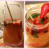 Super Easy Strawberry Basil Margaritas