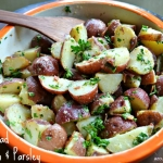 Potato Salad with Bacon & Parsley