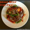Guest Blog: Asian Beef Stir-Fry