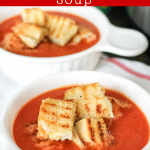 Instant Pot Roasted Red Pepper Soup
