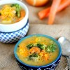Skinny Cheesy Vegetable Chowder