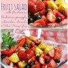Poppy Seed Fruit Salad with Citrus Honey Glaze