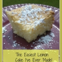 Guest Post: The Easiest Lemon Cake I Have Ever Made!