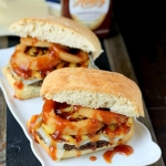 Spicy Black Bean Hawaiian BBQ Burgers