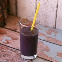 Guest Post: Black and Blue Berry Vanilla Protein Smoothie