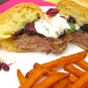 Guest Post: Greek Turkey Burger