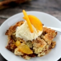 Fresh Peach Crumble