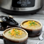 Slow Cooker Loaded Potato Soup and a Slow Cooker Giveaway!