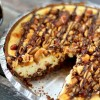 Chocolate Chip Quadruple Nut Crunch Cheesecake