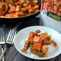 Creole Tofu with Peppers and Onions