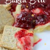 Holiday Cranberry Baked Brie