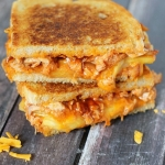 BBQ Chicken & Pineapple Grilled Cheese