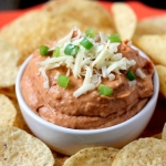 The Best Ever Party Dip - Creamy Chipotle Bean Dip