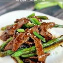Chinese Beef and Green Bean Stir Fry & an Announcement!