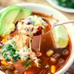 Slow Cooker Vegetable Tortilla Soup
