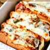 Sausage Pepper Onion Pizza Hoagies