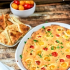 Spicy Pepper Tomato Cheese Dip