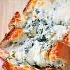 Stuffed Spinach & Artichoke Cheese Bread
