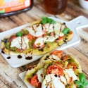 Grilled Caprese Flatbreads