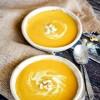 Pumpkin Coconut Curry Soup