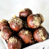 Chocolate Covered Pumpkin Cheesecake Truffles