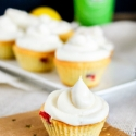 Cranberry Lemon Cupcakes with Lemon Cream Cheese Frosting