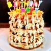 Funfetti Birthday Waffles